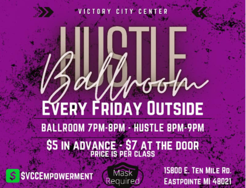 Friday Funday: Ballroom & Hustle lessons every Friday OUTSIDE @ Victory City Center!