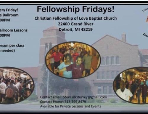 Fellowship Fridays is Back!