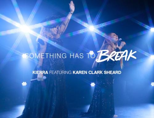 """Kierra Sheard, feat. Karen Clark Sheard – double #1 Hit Single """"Something Has to Break""""- on Gospel radio charts!"""